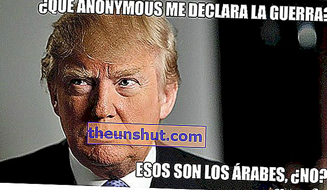 Meme Donald Trump Anonymous