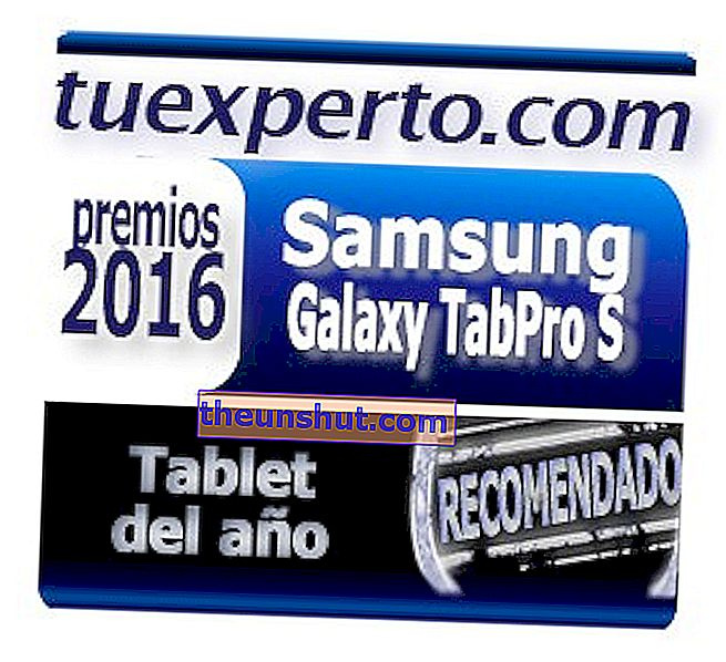 Samsung Galaxy TabPro S Seal Awards OneExpert 2016