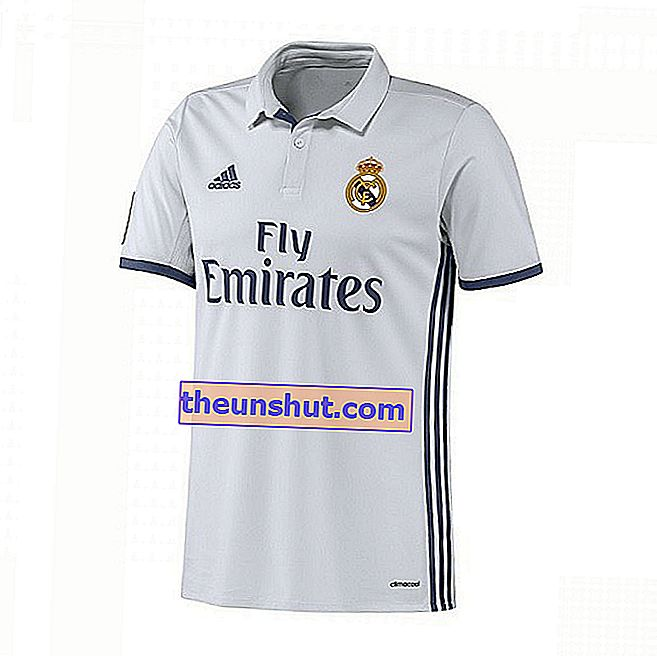 camicia real madrid