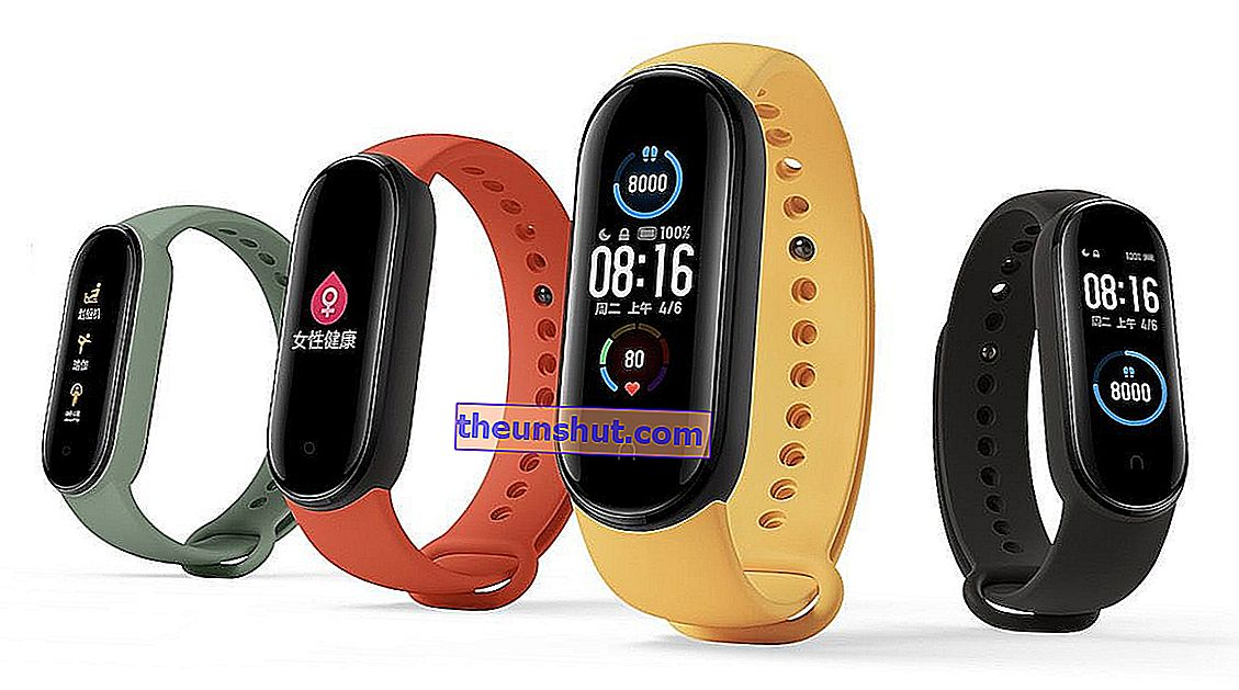 Queste sono le differenze di Xiaomi Mi Band 5 con Mi Band 4 1