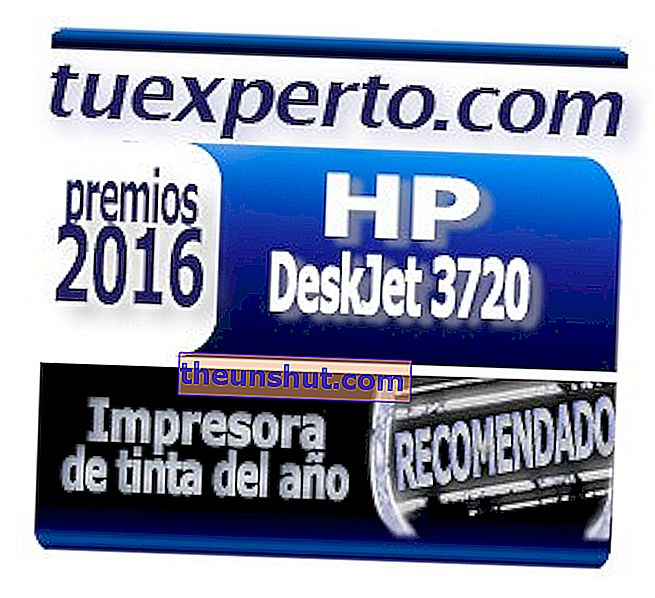 HP Deskjet 3720 Stamp One Expert Awards 2016