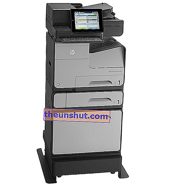 Stampante multifunzione HP Officejet Enterprise Color X585