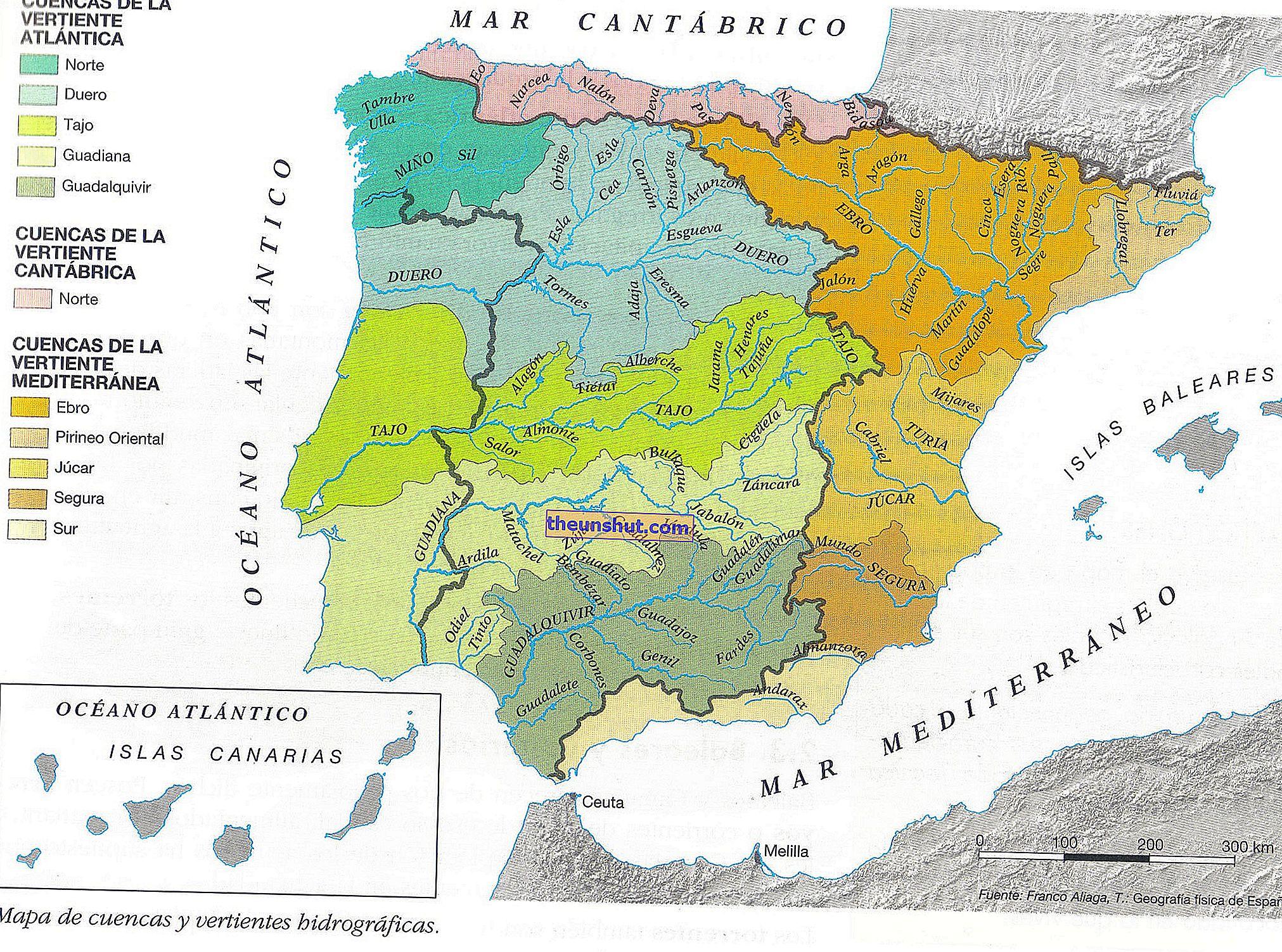Cartina Fiumi Spagna.Piu Di 100 Immagini E Mappe Dei Fiumi In Spagna
