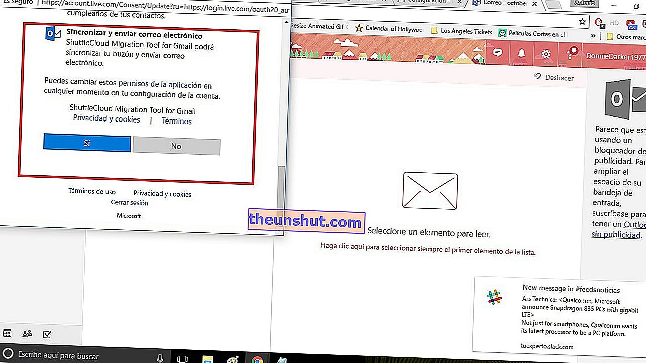 aggiungi un account e-mail in Gmail 4