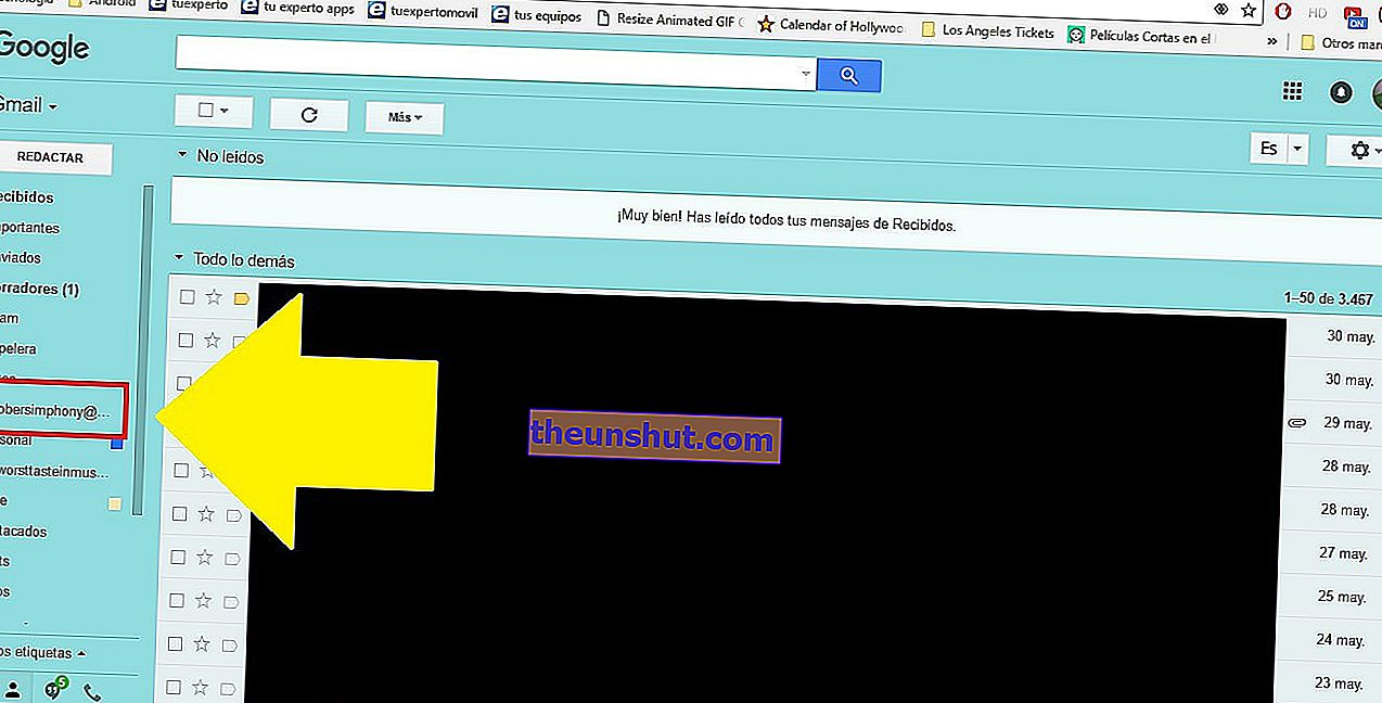 aggiungi un account e-mail in Gmail 6