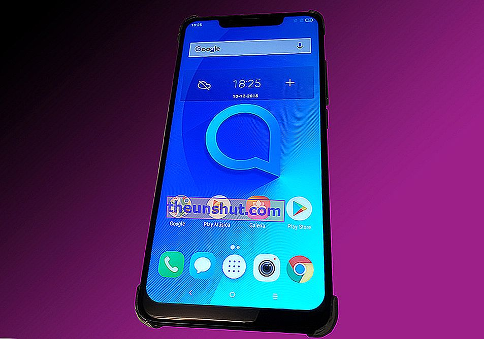 Display ALCATEL 5V