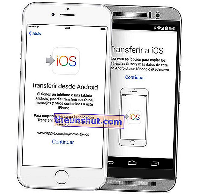 come trasferire foto da Android a iPhone passare a iOS