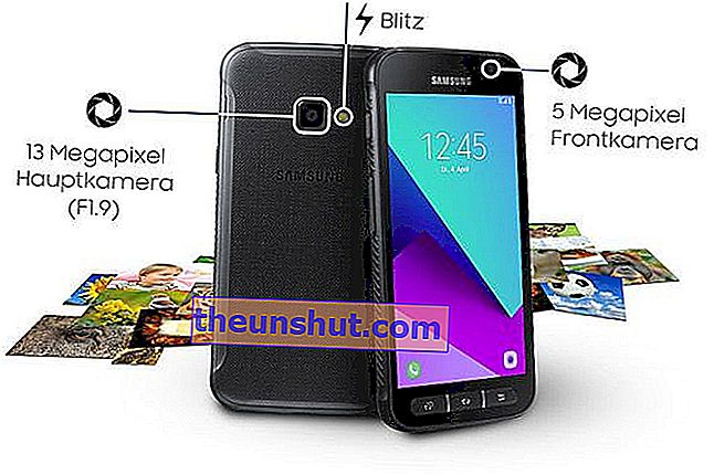 Samsung Galaxy Xcover 4 Specifiche tecniche