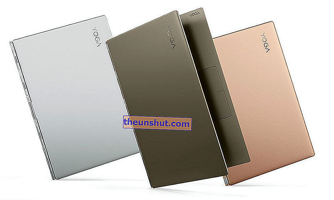 Design Lenovo Yoga 920