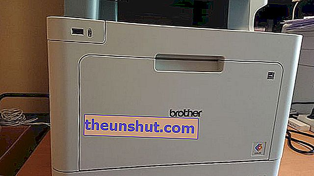Logo frontale Brother MFC-L9570CDW