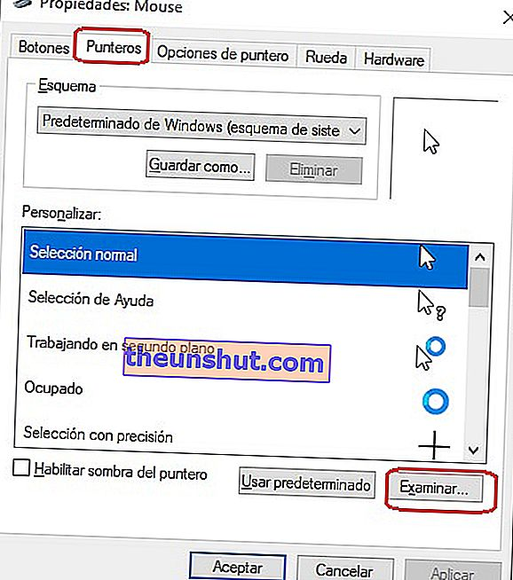 Come installare cursori personalizzati in Windows 10 6